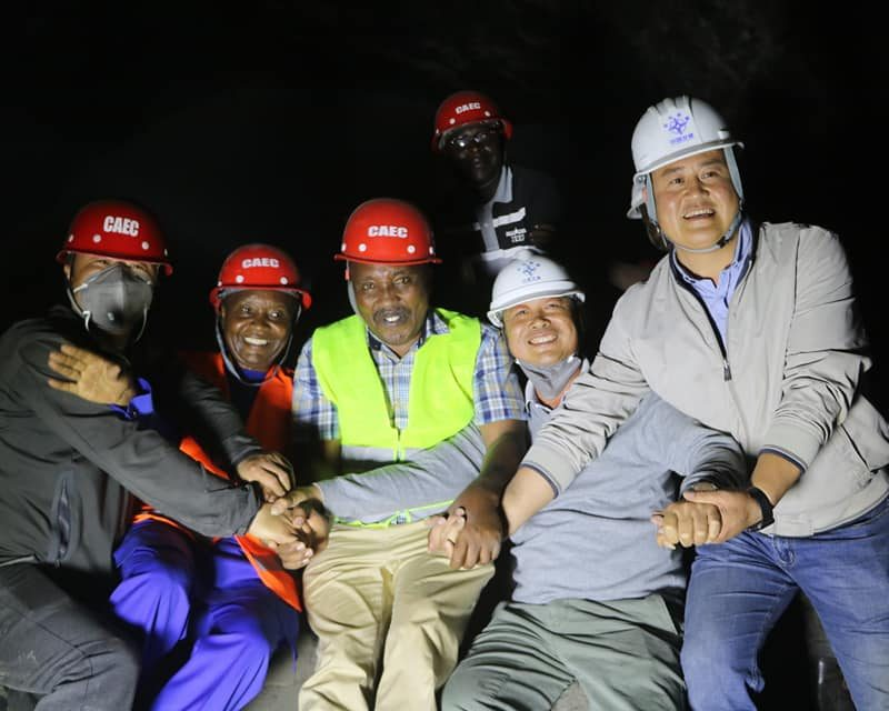 Ngong Tunnel Holing Successful